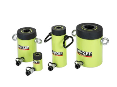 Hollow piston cylinders